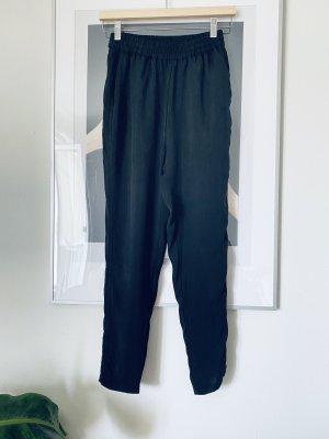 American Vintage Pantalone jersey nero