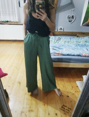 American Vintage Stoffen broek bos Groen