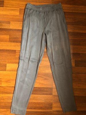 American Vintage Pantalone chino grigio