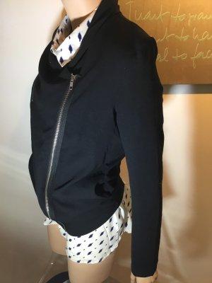 American Vintage Jacke leicht Bluse 36 S ohne Bluse schwarz