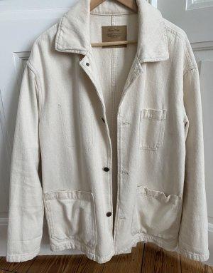 American Vintage Veste mi-saison crème-blanc cassé coton