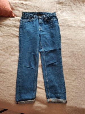 American Vintage Jeans met rechte pijpen blauw