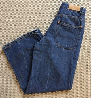 American Vintage 3/4-jeans donkerblauw Katoen