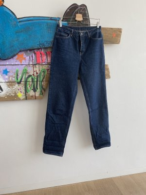 American Vintage Jeans a gamba dritta blu scuro
