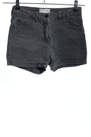 American Vintage Jeansshorts hellgrau Casual-Look