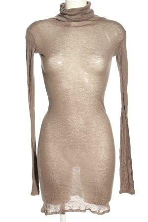 American Vintage Jerseykleid wollweiß Elegant