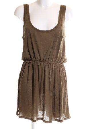 American Vintage Jerseykleid braun Casual-Look