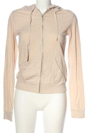 American Vintage Hooded Sweatshirt cream flecked casual look
