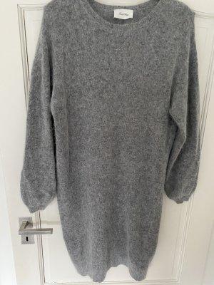American Vintage Robe en maille tricotées gris-gris clair
