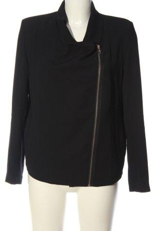 American Vintage Korte blazer zwart casual uitstraling