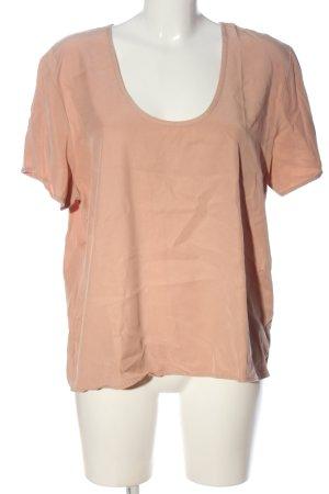 American Vintage Blouse à manches courtes rose chair style décontracté