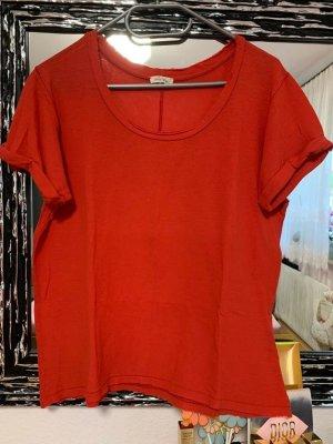 American Vintage Kurzarm- T-Shirt mit Rundhals-Ausschnitt, Größe M