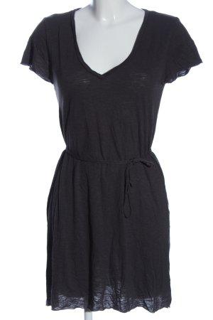 American Vintage Sukienka z krótkim rękawem jasnoszary W stylu casual