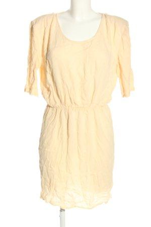 American Vintage Sukienka z krótkim rękawem kremowy W stylu casual