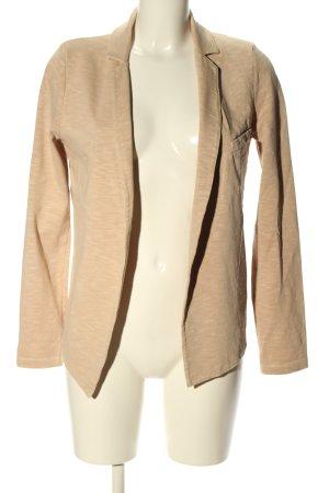 American Vintage Krótka kurtka kremowy Melanżowy W stylu casual
