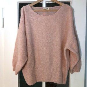 American Vintage – Kuscheliger Pullover rosafarben