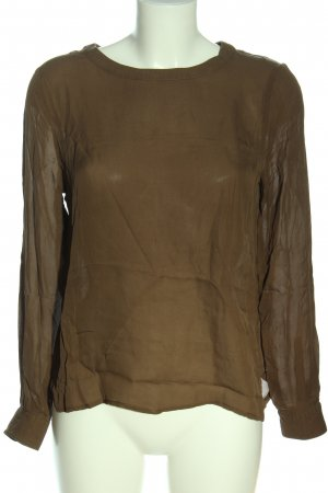 American Vintage Long Sleeve Blouse brown casual look