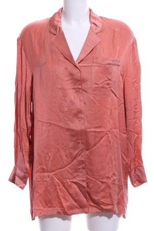 American Vintage Langarm-Bluse hellorange Casual-Look