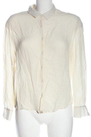 American Vintage Camicia a maniche lunghe bianco sporco stile professionale
