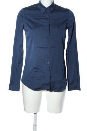 American Vintage Langarmhemd blau Casual-Look