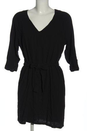American Vintage Langarmkleid schwarz Casual-Look