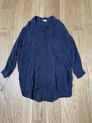 American Vintage Lange blouse donkerblauw