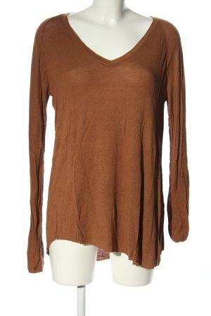 American Vintage Longshirt braun Casual-Look