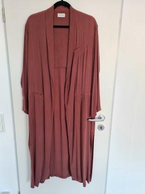 American Vintage Cardigan marrone-rosso