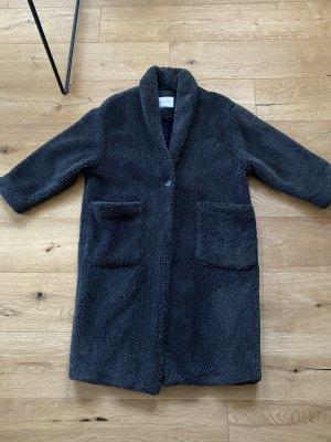 American Vintage Teddy Coat anthracite
