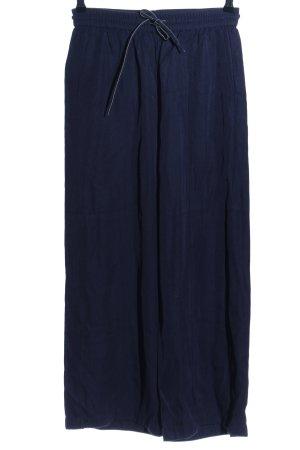 American Vintage Marlenehose blau Casual-Look