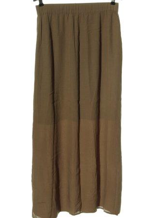 American Vintage Spódnica maxi brązowy W stylu casual