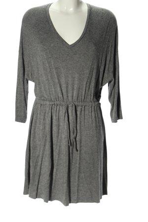 American Vintage Midi Dress light grey flecked casual look