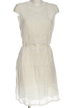 American Vintage Vestido camisero blanco look casual