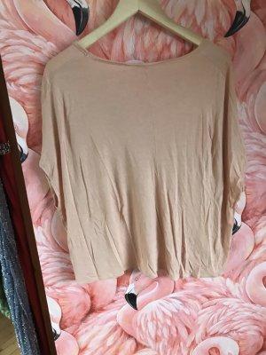 American Vintage Oversized shirt stoffig roze-rosé