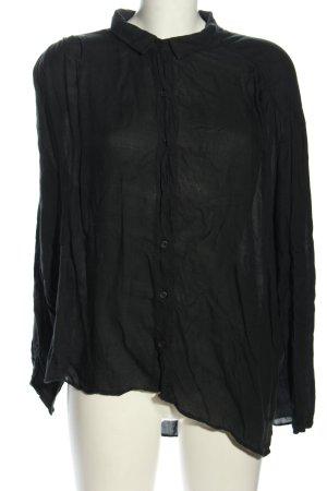American Vintage Oversized Blouse black casual look
