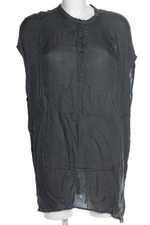 American Vintage Blouse oversized gris clair style décontracté