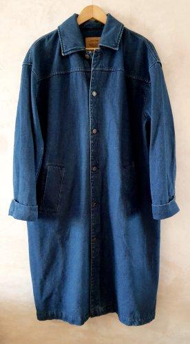 American Vintage Veste en jean bleu-bleu acier