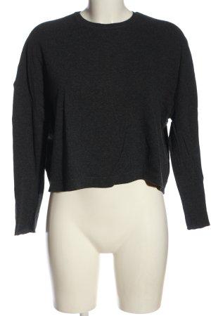 American Vintage Camicia oversize grigio chiaro puntinato stile casual