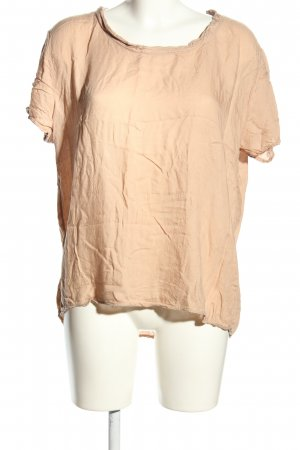 American Vintage Oversized Shirt nude Casual-Look