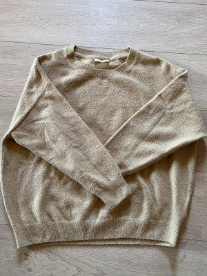American Vintage Crewneck Sweater beige-camel wool