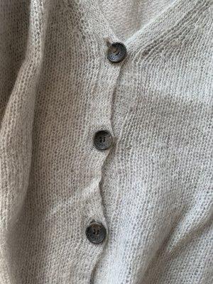 American Vintage Sweter z dzianiny jasnoszary