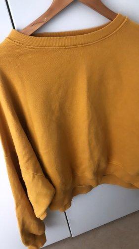 American Vintage Maglione oversize giallo-oro