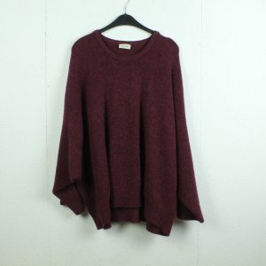 AMERICAN VINTAGE Pullover Gr. M/L weinrot oversized (21/01/071*)