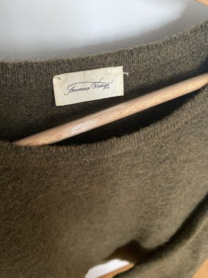 American Vintage Oversized trui veelkleurig Alpacawol