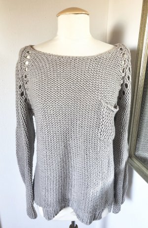 American Vintage Pullover Strick Taupe