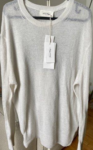 American Vintage Pullover weiß NEU, Gr. XS/S