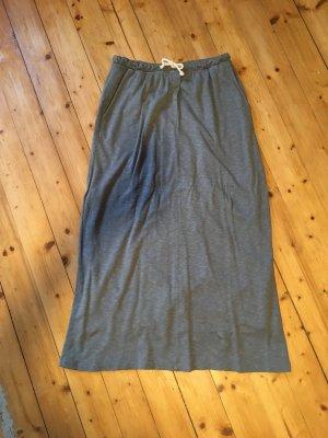 American Vintage Midi Skirt light grey