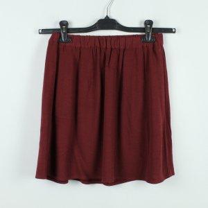 American Vintage Miniskirt carmine viscose