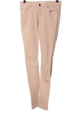 American Vintage Spodnie rurki różowy W stylu casual