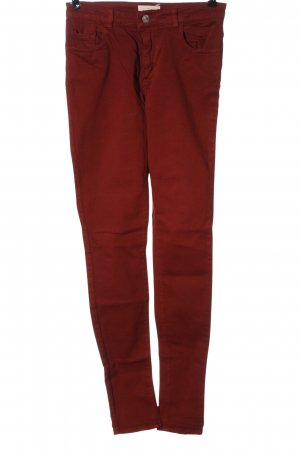 American Vintage Tube jeans rood casual uitstraling